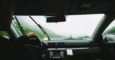Scheibenwischer beim Auto